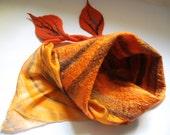 Nuno felted scarf / shawl - Beautiful autumn