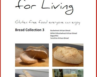 Bread Collection 3  (no gluten, no dairy, no gum, bread)