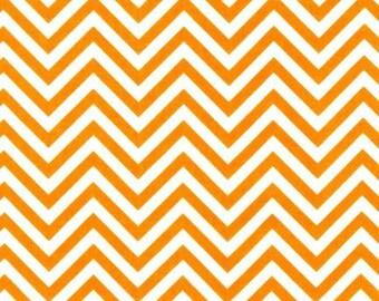 Tangerine Skinny Chevron From Robert Kaufman