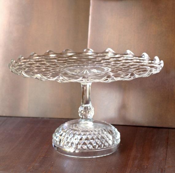 Wedding Cake Stand 14 Vintage Cake Pedestal Stand Cake Plate