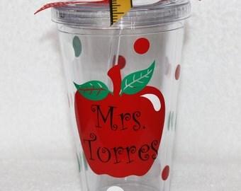 Personalized Teacher Tumbler
