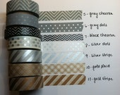 Neutral Color Washi Tape