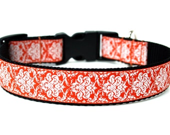 "Fall Dog Collar 1"" Halloween Dog Collar"