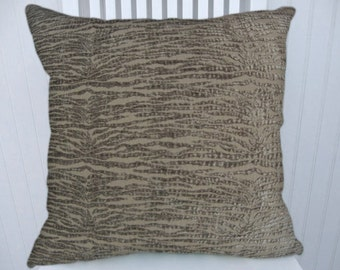 Grey  Velvet Pillow Cover  Decorative Pillow Cover 18x18 or 20x20 or 22x22- Throw Pillow-- Accent Pillow.