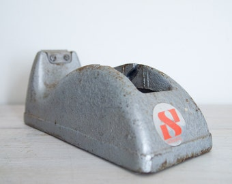 vintage cast iron sellotape tape dispenser