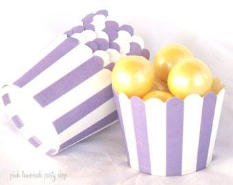 Small PurPle-Nut/Candy/Baking Cups--25ct--Parties--cupcakes-gumballs-snacks