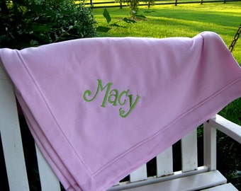 Fleece Stadium Blanket -- add your name, team name, etc.  Personalized FREE- Let us create one for you