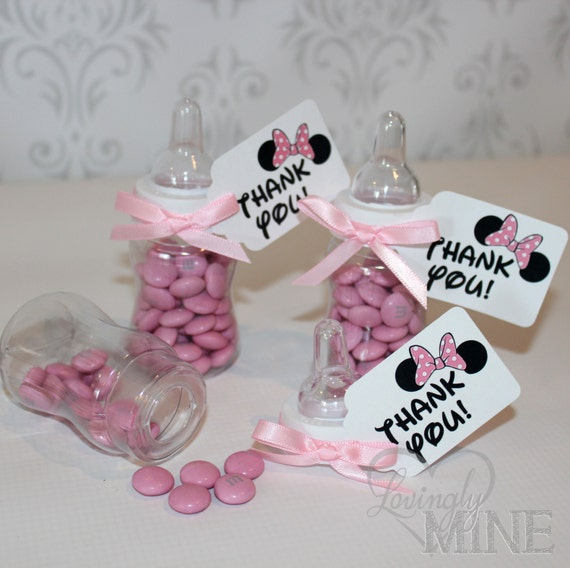 baby minnie mouse baby shower favors minnie mouse inspired baby shower