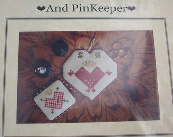 Remembrance Scissors Case and Pin Keeper   Cross stitch and Sewing Pattern