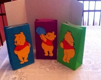 Cute Pooh Goody Bags