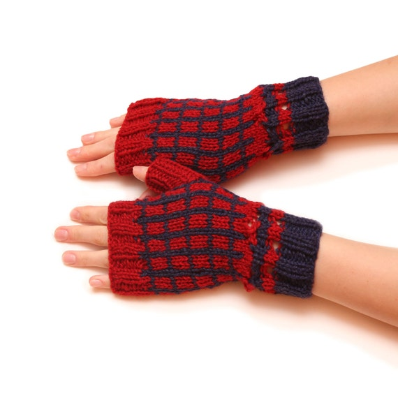 Arm fingerless gloves mittens multicolored fingerless no finger mittens hand mittens finger free gloves knitted gloves evening gloves