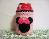 Minnie Mouse Can Koozie
