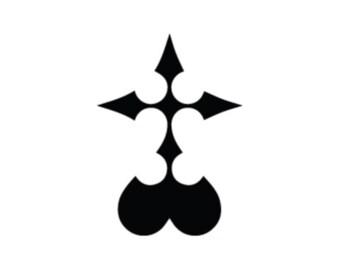 Car / House / WIndow Nobody Kingdom Hearts Decal