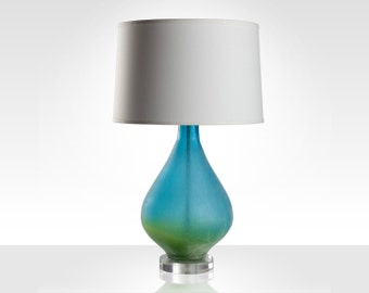 Medium Azur Table Lamp with White Shade