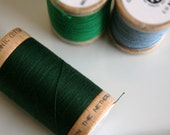 CUSTOM - ORGANIC Cotton Thread in Forest  - GOTS Certified - 4822