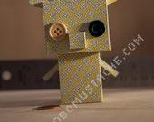 "3 1/2"" Tall Papercraft Giraffe - PDF DOWNLOAD"