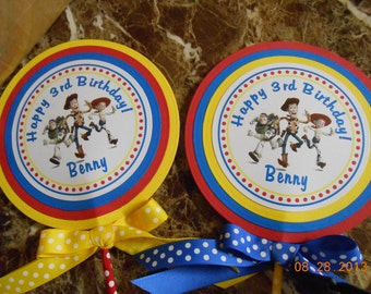Toy Story Centerpiece-Toy Story Cake Topper-Toy Story Birthday-Toy Story Party-Toy Story Decorations