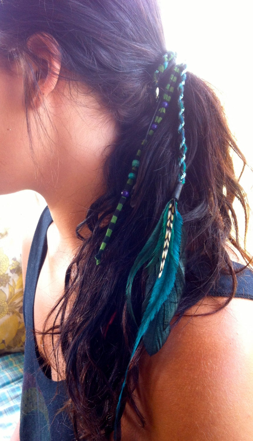 Hair Feathers Natural