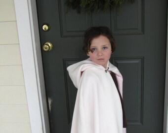 Girls Fleece Cloak size 5 or 6