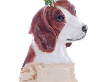Christmas ornament Personalized Beagle ornament Perfect personalized gift for the beagle lover in your life (d212