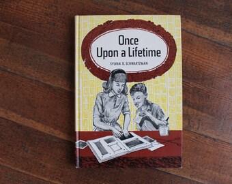 Vintage Unused Jewish Memory Book - Once Upon a Lifetime