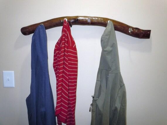 tree branch coat rack coat hook towel holder natural home. Black Bedroom Furniture Sets. Home Design Ideas