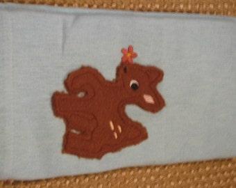 Fleece Applique Deer Towel- OVERSTOCK