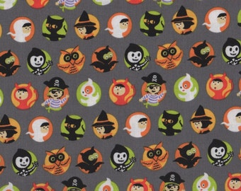 Halloween, Costume Clubhouse by Sheri Berry Designs for Riley Blake Designs, Halloween Fabric, 01617