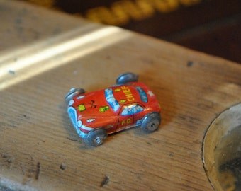 Miniature Tin Car. Lithographed. FD Chief.