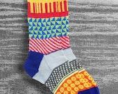Socks, Hand Knit Socks, Unique, Womens Handknit Socks, Mens Wool Socks, Teen Sox, Boho Sox, Icelandic Design, Hipster Socks, Made To Order