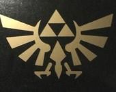 "Legend of Zelda 6"" Hylian crest decal"