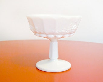 White Milk Glass Vase
