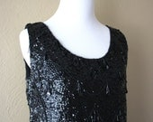 Gorgeous Vintage 1950's Beaded Shell