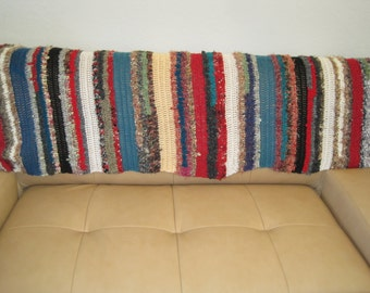 Anthropologie Inspired  - Handmade Silk Throw - Recycled Silk