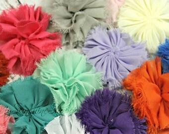 Shabby Ballerina flowers - set of 6