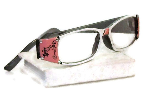pale pink reading glasses 250 strength pink and by starality