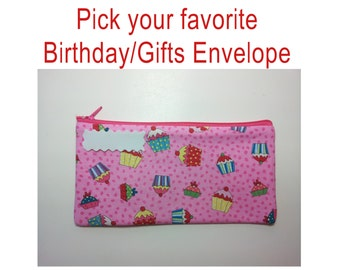 Cash Envelope System -BIRTHDAY, GIFTS, PARTY- for use with the Dave Ramsey System -Ready to Ship