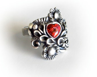 Royal Heart  PMC3 Ring