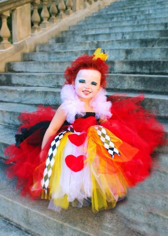 Alice in Wonderland Queen of Hearts Tutu Dresses ...