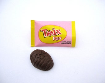 Chocolate Eggs In Wrapper Inspired By Twix For Your 18