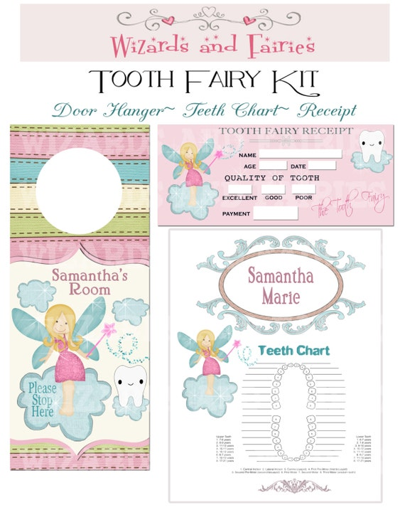 Agile image with tooth fairy printable