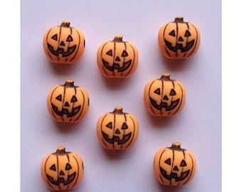 24 Pumpkin Beads