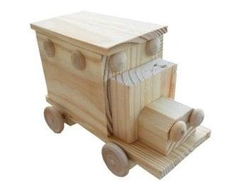 Ambulance Wood Craft Kit