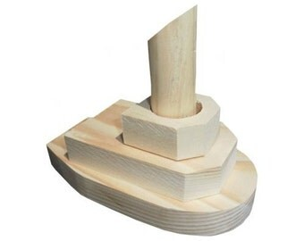 Tug Boat Wood Craft Kit