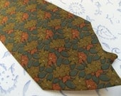 RESERVED FOR ROB Hermes Paris Vintage Silk Necktie  Free Shipping
