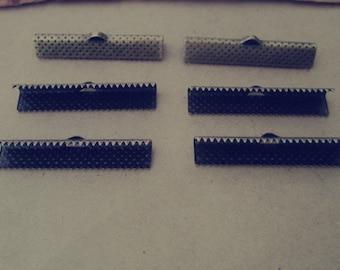 100 pcs 35mm antique bronze  Fasteners Clasps