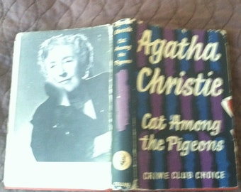 AGATHA CHRISTIE 1st ENGLISH edition--1959 Cat Among the Pigeons