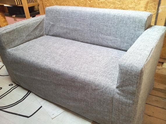 Funda para sof klobo de ikea tela de algod n de tapicer a - Tela tapiceria sofa ...