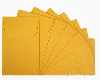 1000 Coin Envelopes in Golden Kraft,  2 1/4 x 3 1/2 inches