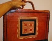 LEATHER Document Case, Folio, Attache